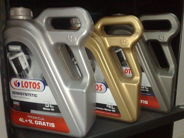 Olej silnikowy Lotos